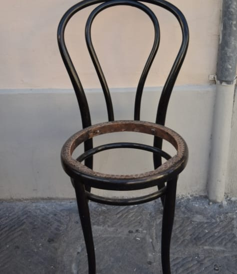 Restored Thonet chair