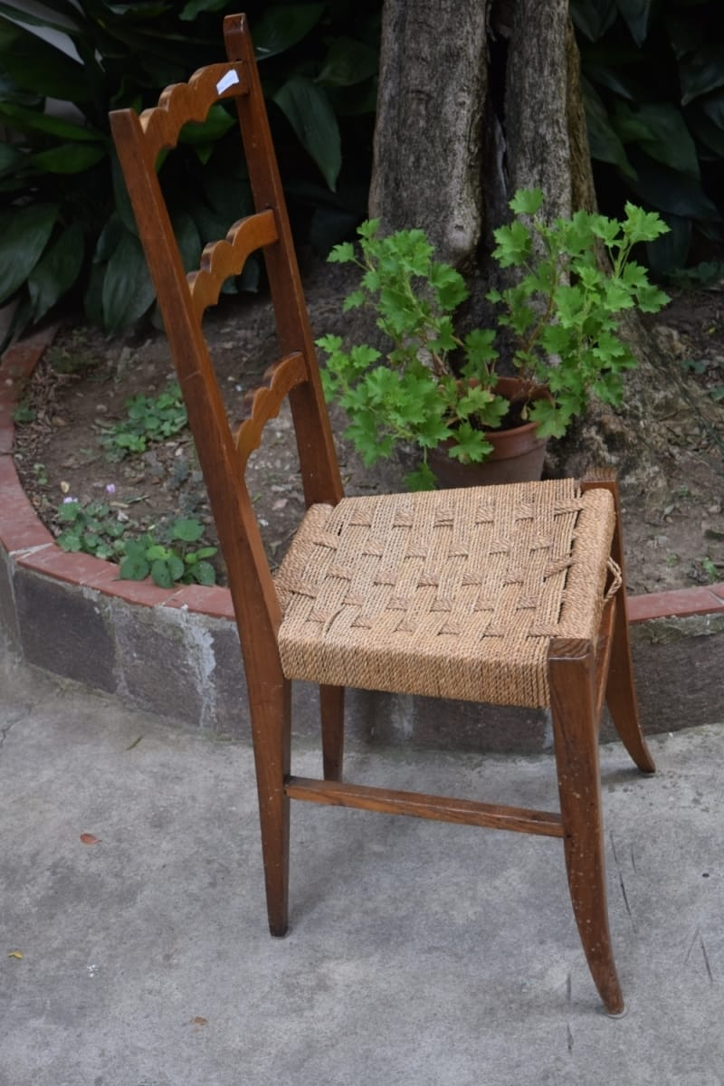 Chair early 1900's Jane Harman storage and furniture restoration in Florence