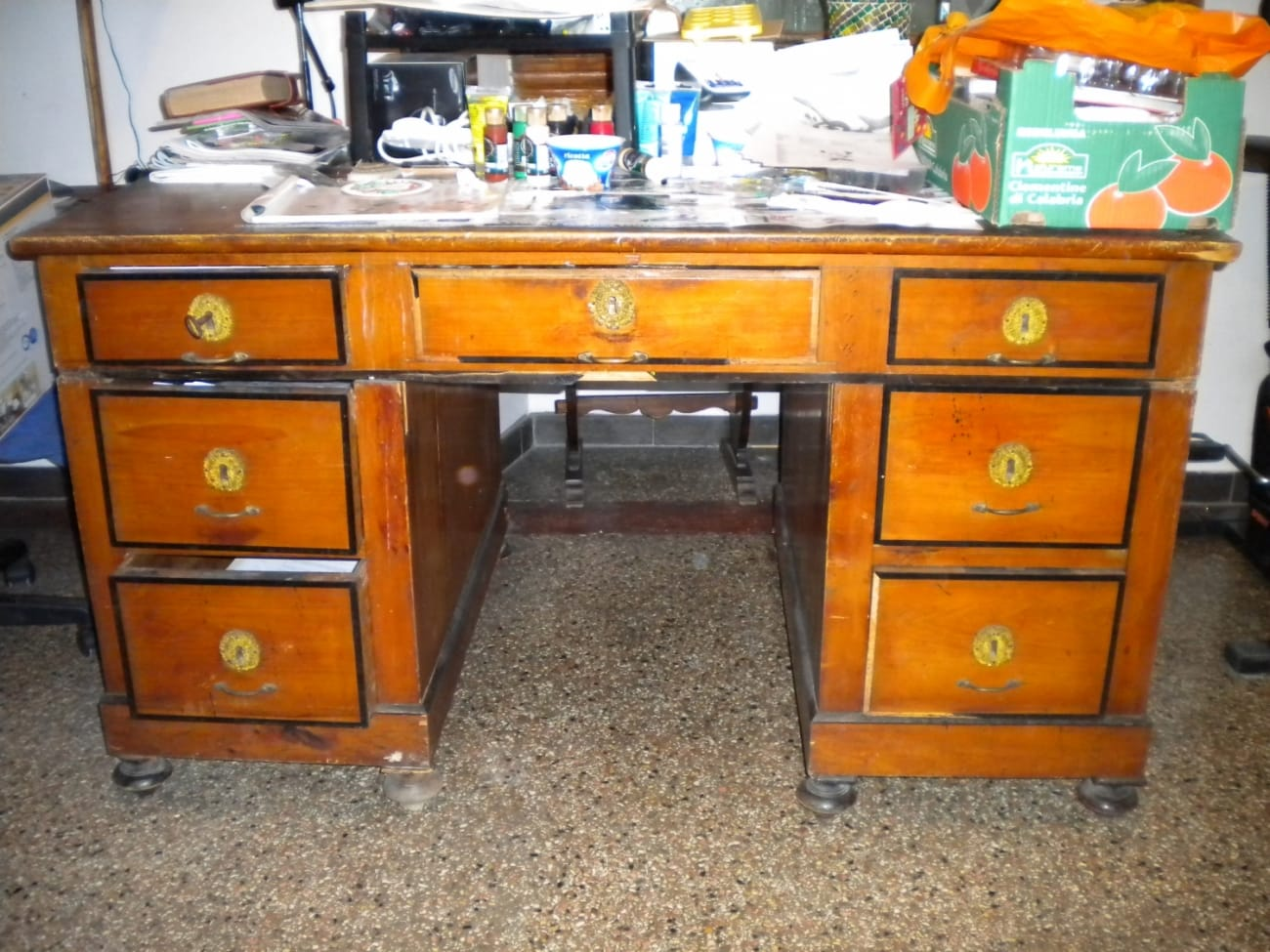 Desk Jane Harman storage and furniture restoration in Florence
