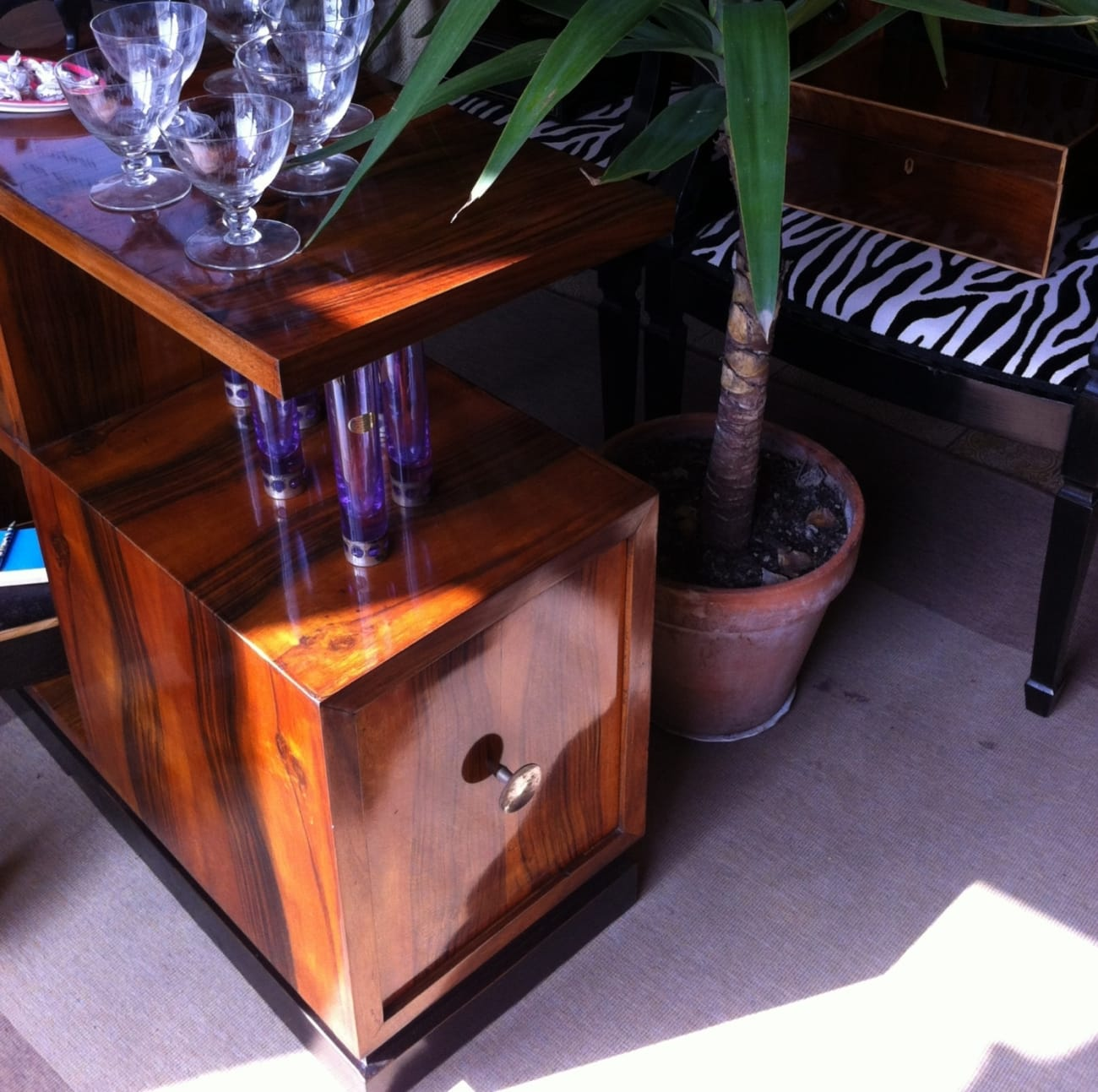 Deco cabinet Jane Harman storage and furniture restoration in Florence